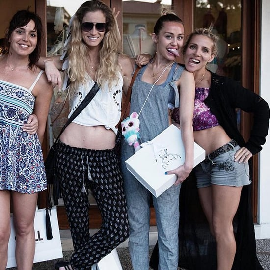 Miley Cyrus Hangs Out With Elsa Pataky in Australia