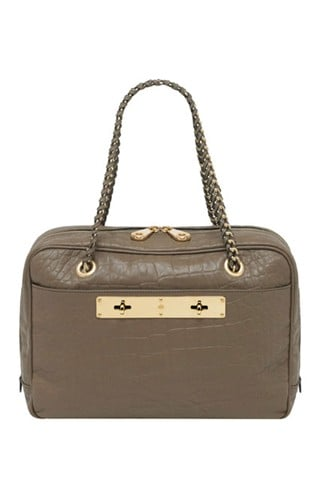 Carter Double Handle Bag in Birds Nest Croc Nappa Leather, $1,550