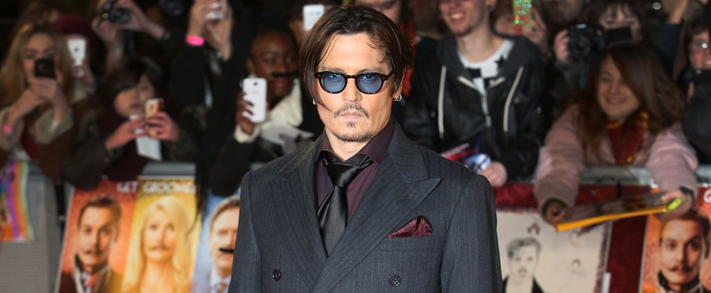 Johnny Depp Gets Emotional When Talking About His Daughter's Kidney-Failure Hospitalization