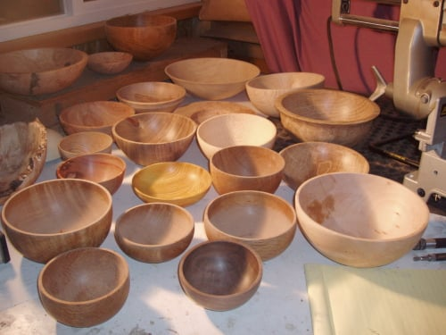 Casa Verde: Nick Stagg's Turned, Reclaimed Wood Bowls