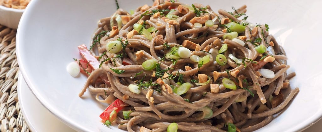 For a Quick Weeknight Dinner, Whip Up Our Soba Noodles With Peanut Sauce
