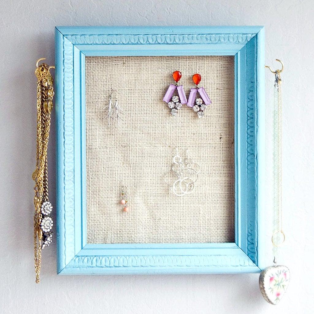 Photo Frame Jewelry Organizer
