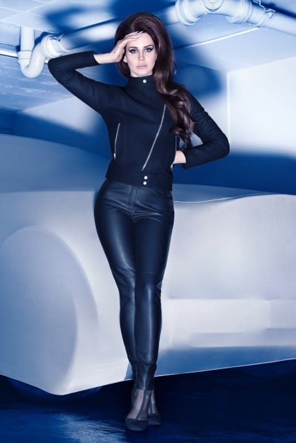 Lana Del Rey Does Her Retro Thing (Again) For H&M's Winter Campaign