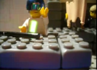 The Simpsons Intro — in Legos!