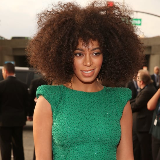 Solange Knowles| Grammys 2013 Hair and Makeup
