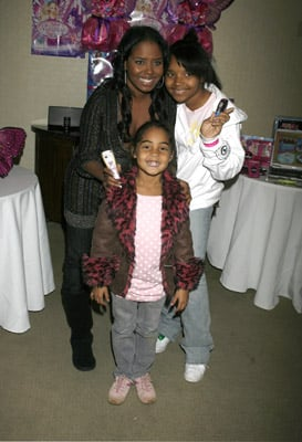 Shar Jackson with Her Girls