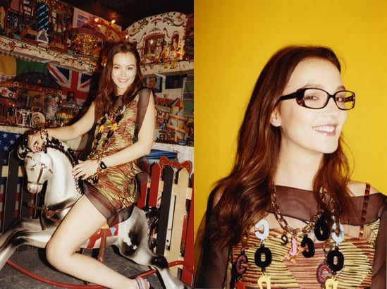 Leighton Meester Fronts Missoni Spring 2011 Ad Campaign Shot by Juergen Teller