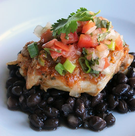 Slow-Cooked Mexican Chicken