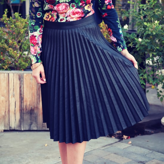 How to Wear a Pleated Skirt   Video