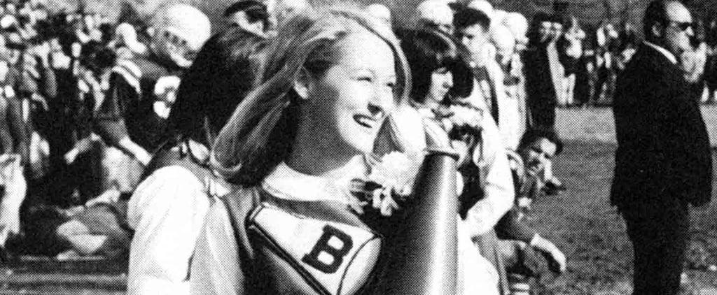 See Meryl Streep in Her High School Cheerleading Days!