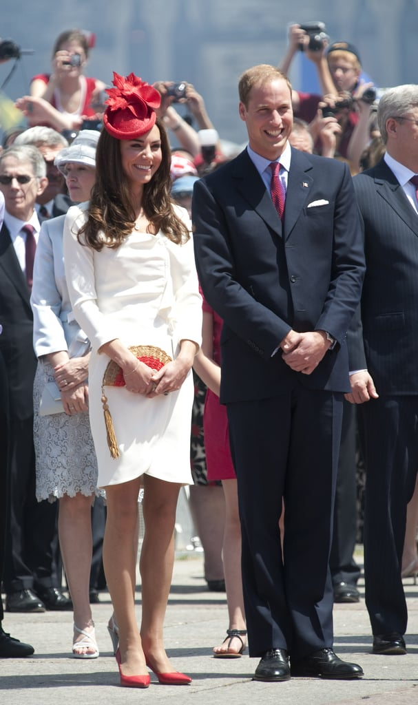 Prince William and Kate Middleton attended a citizenship ceremony on July 1, which was their first full day in Canada.