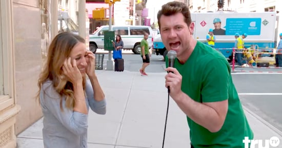 Billy Eichner Yells His Sex and the City 2 Feels at Sarah Jessica Parker in the Middle of NYC: Watch!