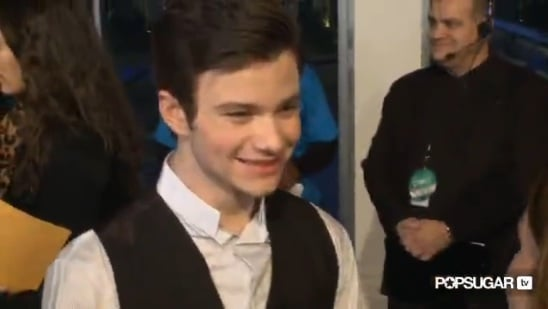 Video: Glee's Chris Colfer Talks Kurt's Relationship With Blaine and Future Guest Stars