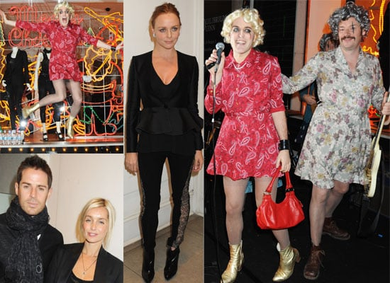 Photos of The Mighty Boosh and Louise & Jamie Redknapp at Stella McCartney Christmas Lights in London