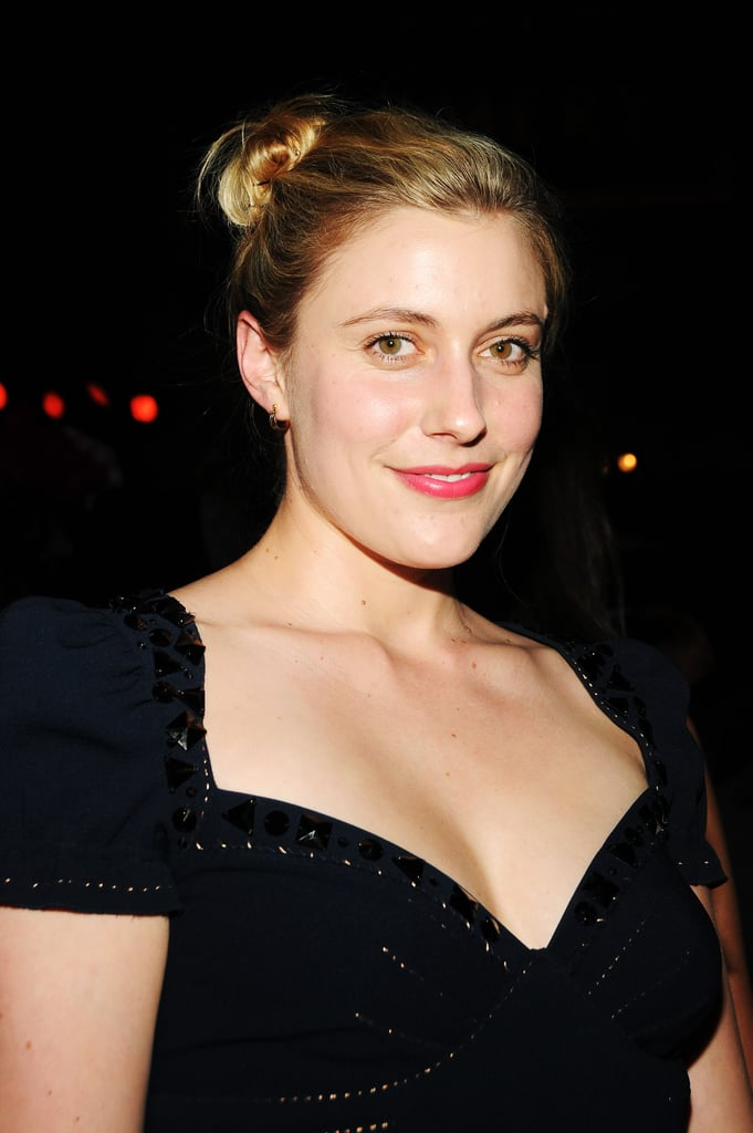 Greta Gerwig gave a smile at the Grand Chefs Dinner in NYC.