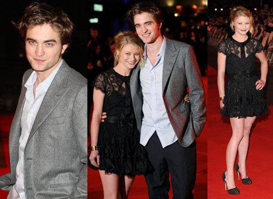 Photos of Robert Pattinson and Emilie De Ravin at Remember Me London Premiere With Holly Valance, Tom Felton, Charlie Simpson