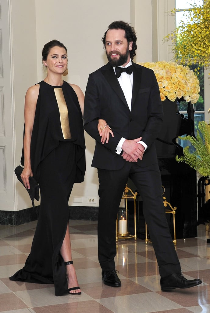 Keri Russell and Matthew Rhys at State Dinner August 2016 ...