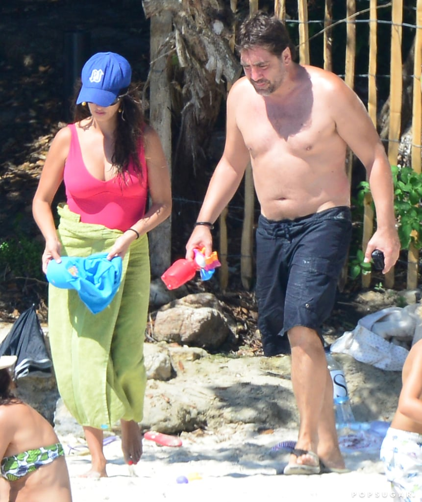 Penélope Cruz Brings Her Hot Bikini Body and New Baby to the Beach!