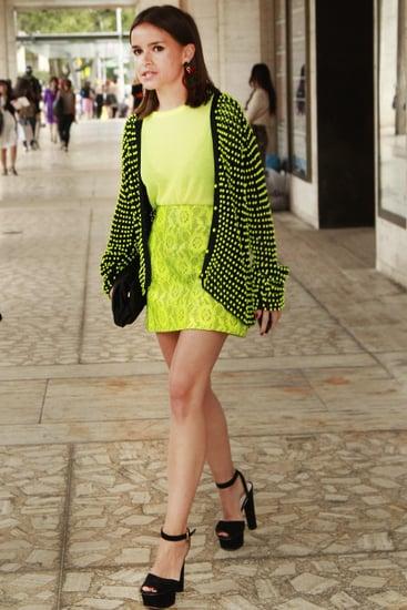 Spring 2012 New York Fashion Week Street Style: Day 4
