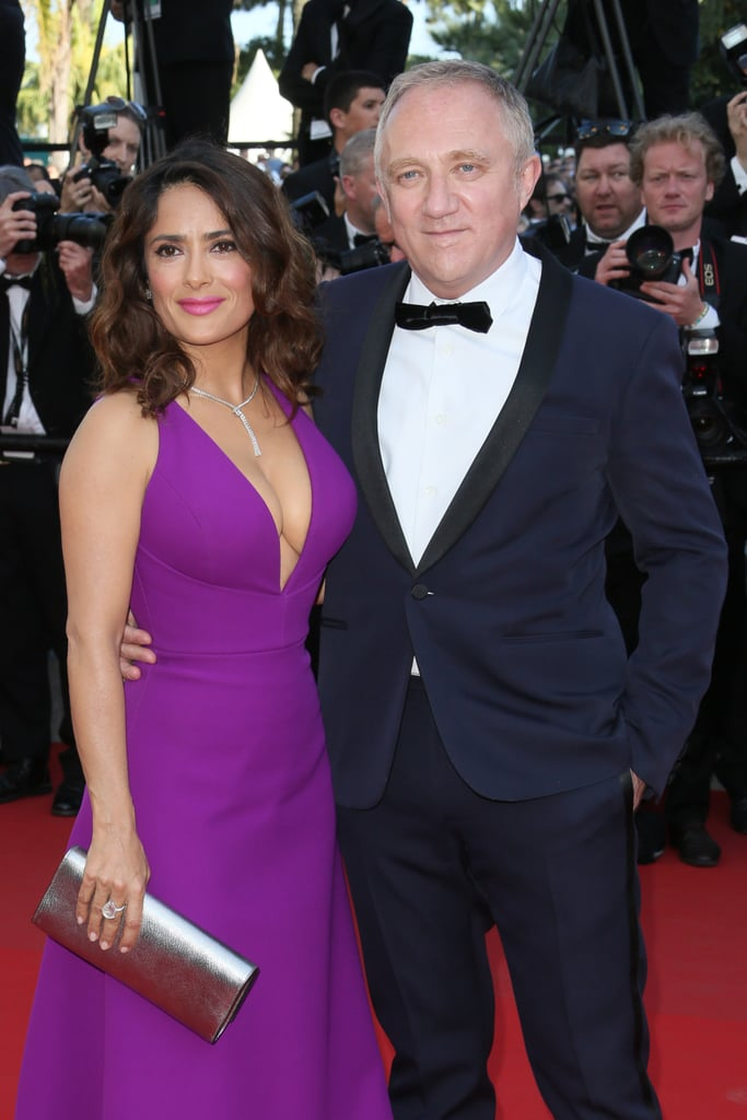 Salma Hayek and François-Henri Pinault in 2015