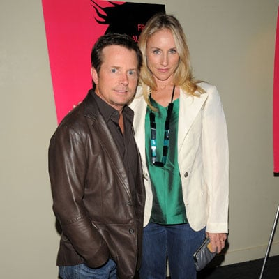 Michael J. Fox and Tracy Pollan Out in NYC