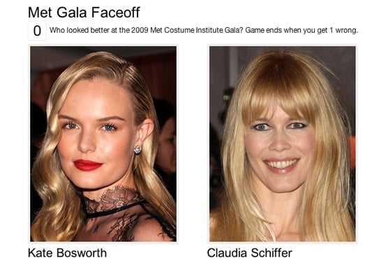 Play Our Met Costume Institute Gala Faceoff and Win Prizes!