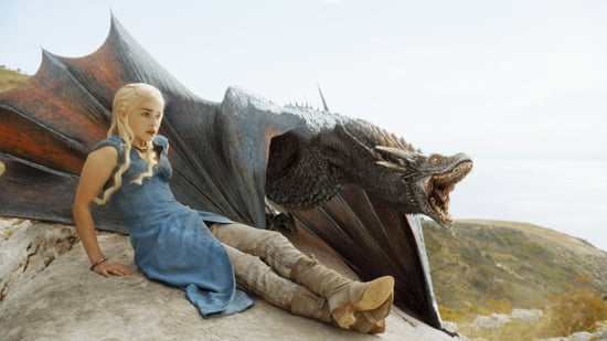 New Game of Thrones Pictures: Daenerys's Dragons Are All Grown Up!