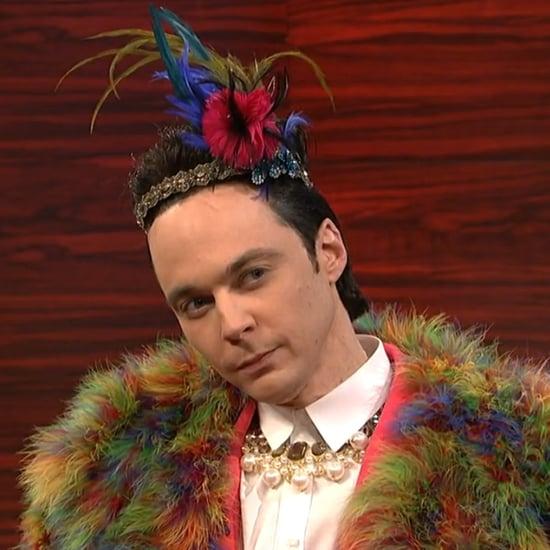 Jim Parsons as Johnny Weir on SNL