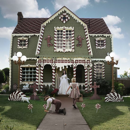 Real-Life Gingerbread House