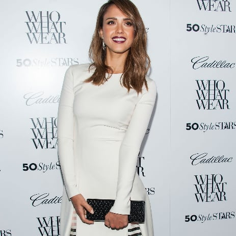 Jessica Alba at Who What Wear Party