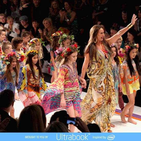 Pictures and Runway Review of Camilla Spring Summer 2012-2013 Mercedes Benz Fashion Week Australia Catwalk Show