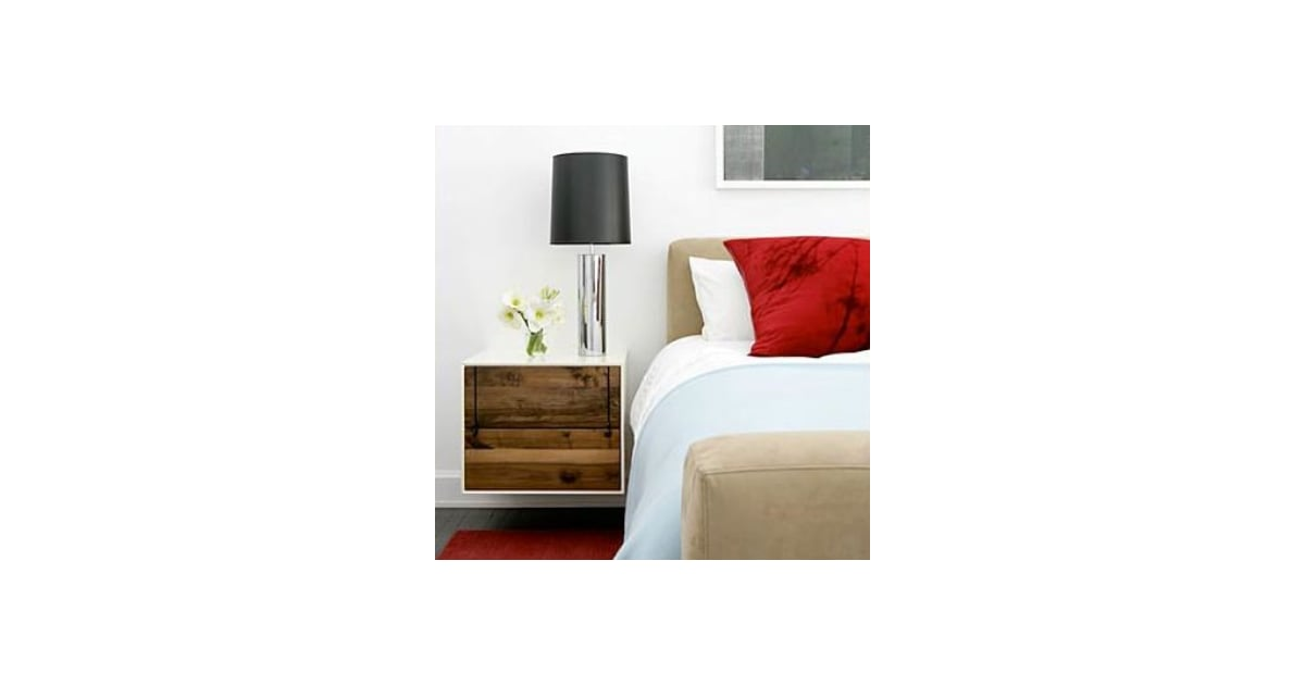 Do you have a wall mounted nightstand popsugar home for Wall hung nightstand