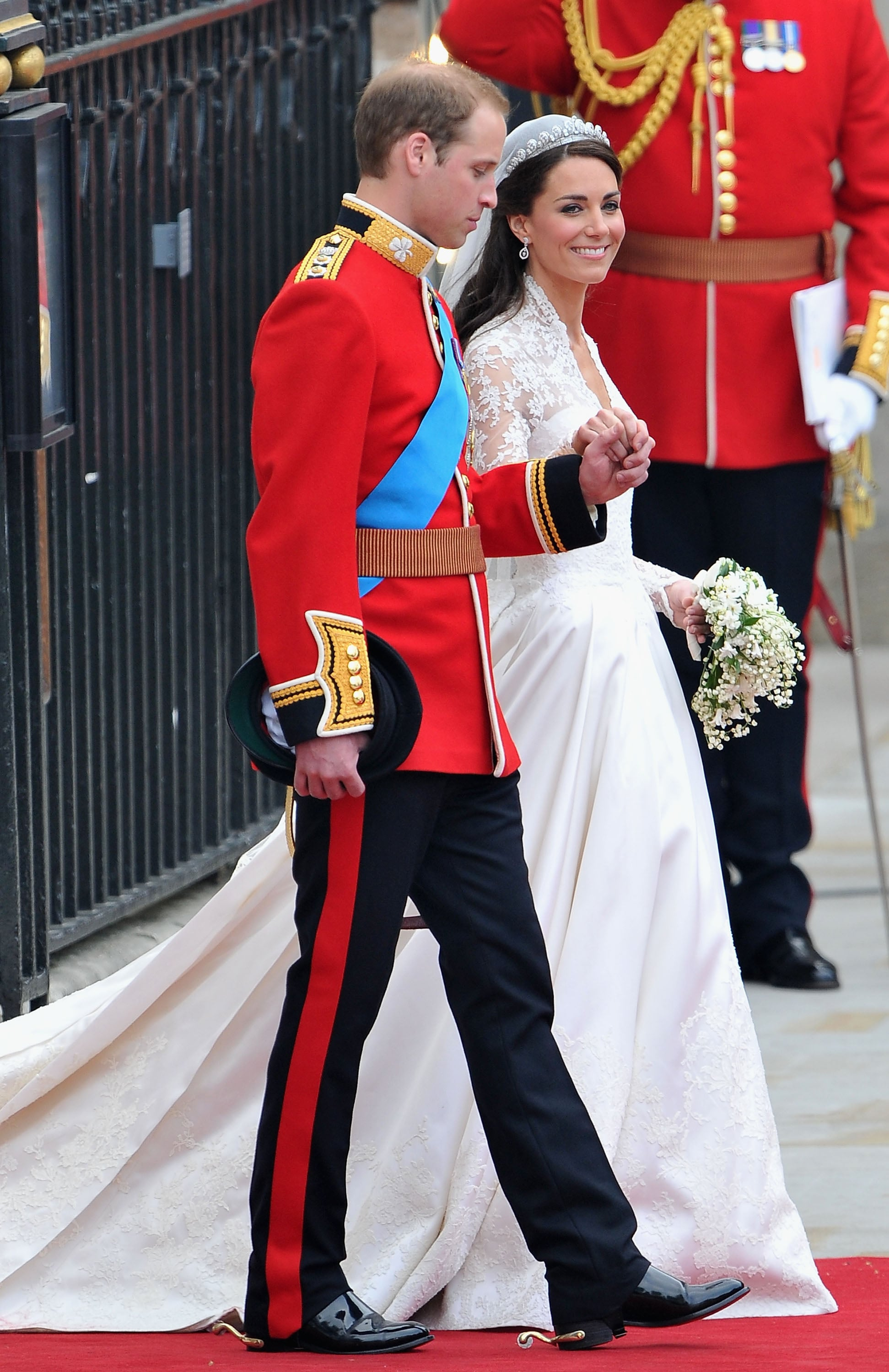 Who could forget the royal wedding? Kate married William in a massive ceremony at Westminster Abbey on April 29, 2011.