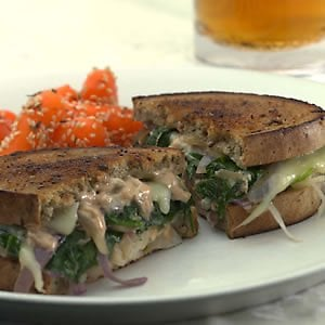 Monday's Leftovers: Vegetarian Reubens