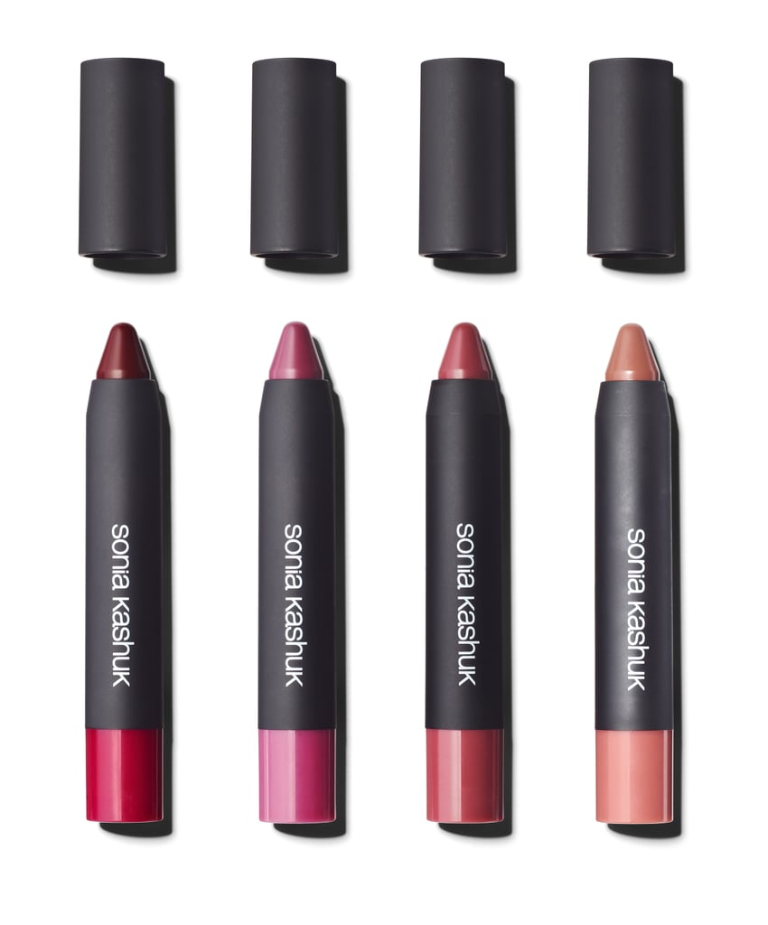 Lustrous Shine Lip Crayon in Dahlia, Orchid, Peony, and Sweet Pea, $9 each