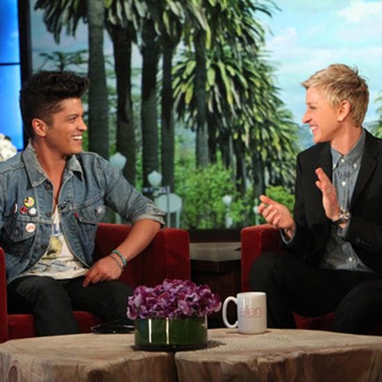 Bruno Mars Pranks a Nurse on the Ellen Show | Video