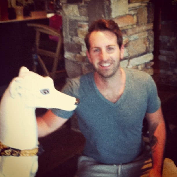 Josh Kelley gave new meaning to the term man's best friend. Source: Instagram user joshbkelley