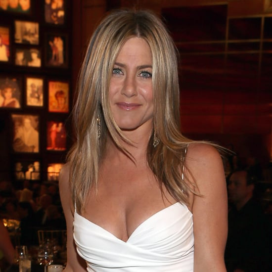 Jennifer Aniston White Dress Video