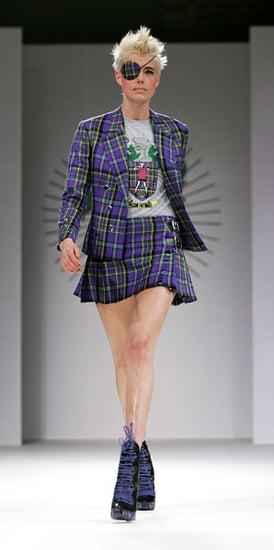 Fab Flash: Pink Eye Takes London Fashion Week By Storm (Ew)