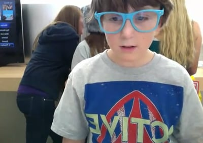 12-Year-Old Apple Store Dancer Becomes YouTube Hit