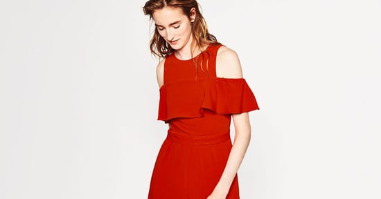 Cheap Thrill: A Frilled Tomato-Red Jumpsuit
