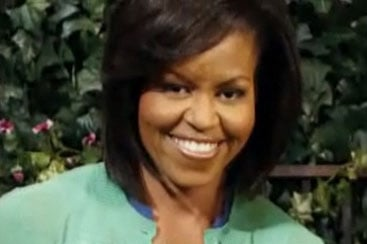 Michelle Obama Meets Big Bird on Sesame Street