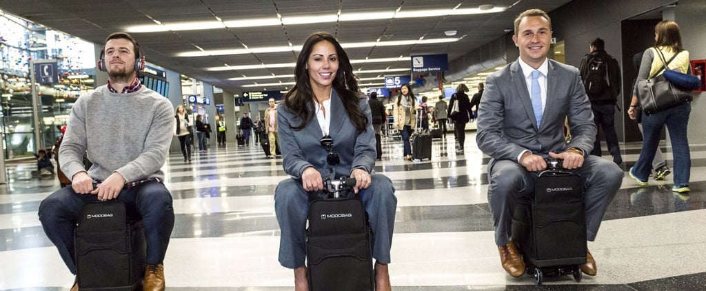 Soon, You May Be Able Ride Through the Airport on Your Suitcase