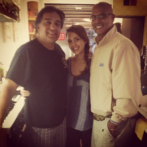 Jessica Alba celebrated the very special holiday with her dad and father-in-law.  Source: Instagram User jessicaalba