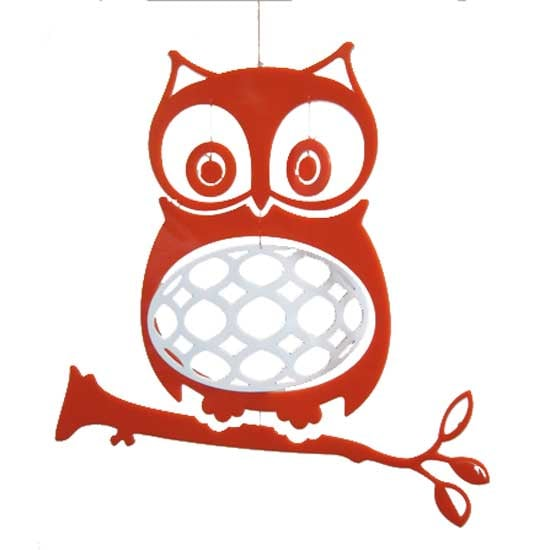 Wise Old Owl Modern Mobile