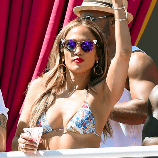 Jennifer Lopez Has the Time of Her Life While Hosting a Carnival Party in Las Vegas