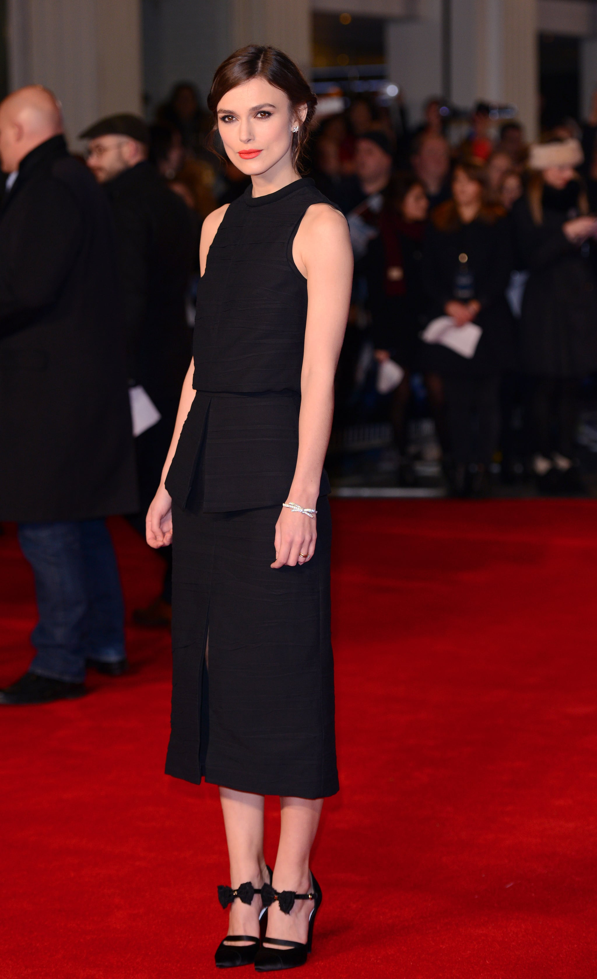 Keira Knightley at the UK Jack Ryan: Shadow Recruit Premiere