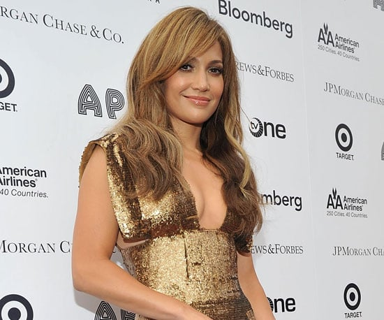 Slide Picture of Jennifer Lopez at Apollo Theater Benefit Concert