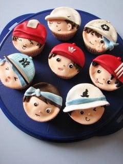 Yummy Link: Adorable B-Boy Cupcakes
