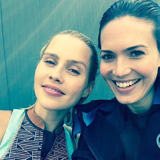 Mandy Moore Shares Behind-the-Scenes Photos from 47 Meters Down